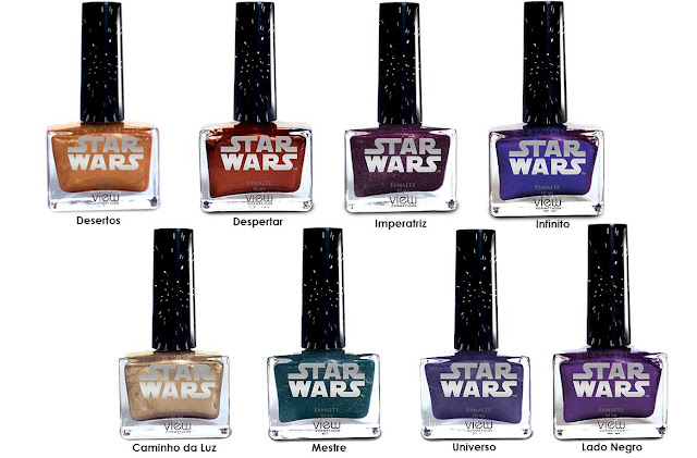 Coleção de maquiagem Star Wars - Esmalte METÁLICO MATTE