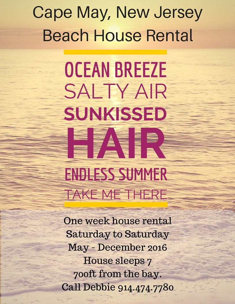 Cape May Beach House Rental