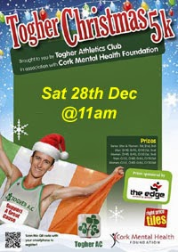 Cork City...Togher 5k...Sat 28th Dec 2013