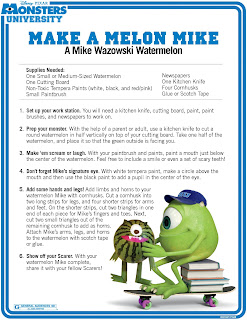 Make a Melon Mike Project