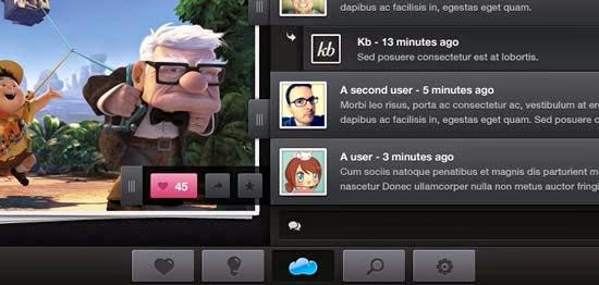 iPad Application Mockup