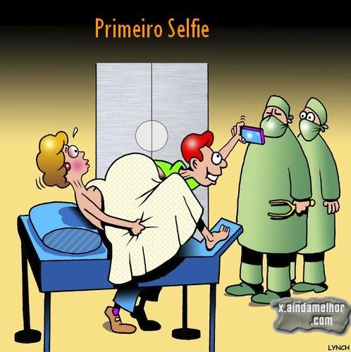 primeiro selfie
