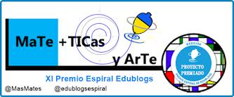 Ganador XIª edición Premios Espiral Edublogs