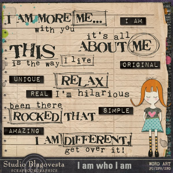 http://shop.scrapbookgraphics.com/I-am-who-I-am-word-bits.html