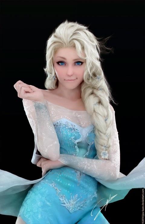 Realistic Elsa