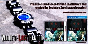 zero escape virtures last reward preorder bonus Zero Escape: Virtues Last Reward   Amazon Pre Order Bonus