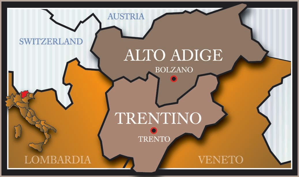 The World of Wine Review Italy Unit 2 TrentinoAlto Adige