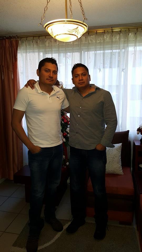 César Chávez y Luis Chávez