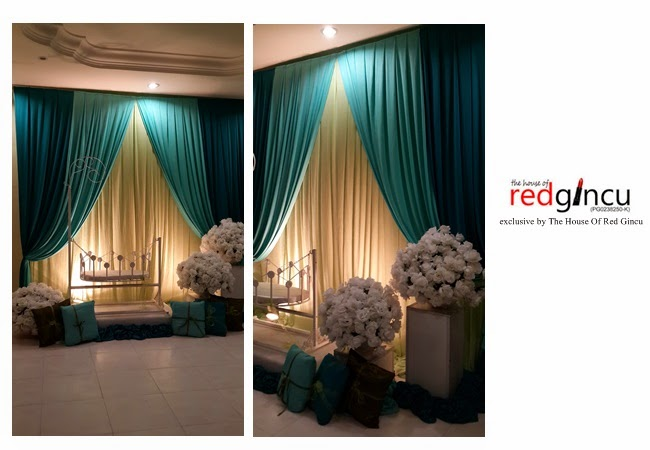wedding boutique the house of red gincu mini pelamin berendoi