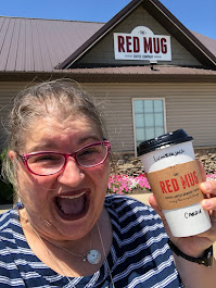 2020, Red Mug, Lumberjack Latte, Mt Hope OH