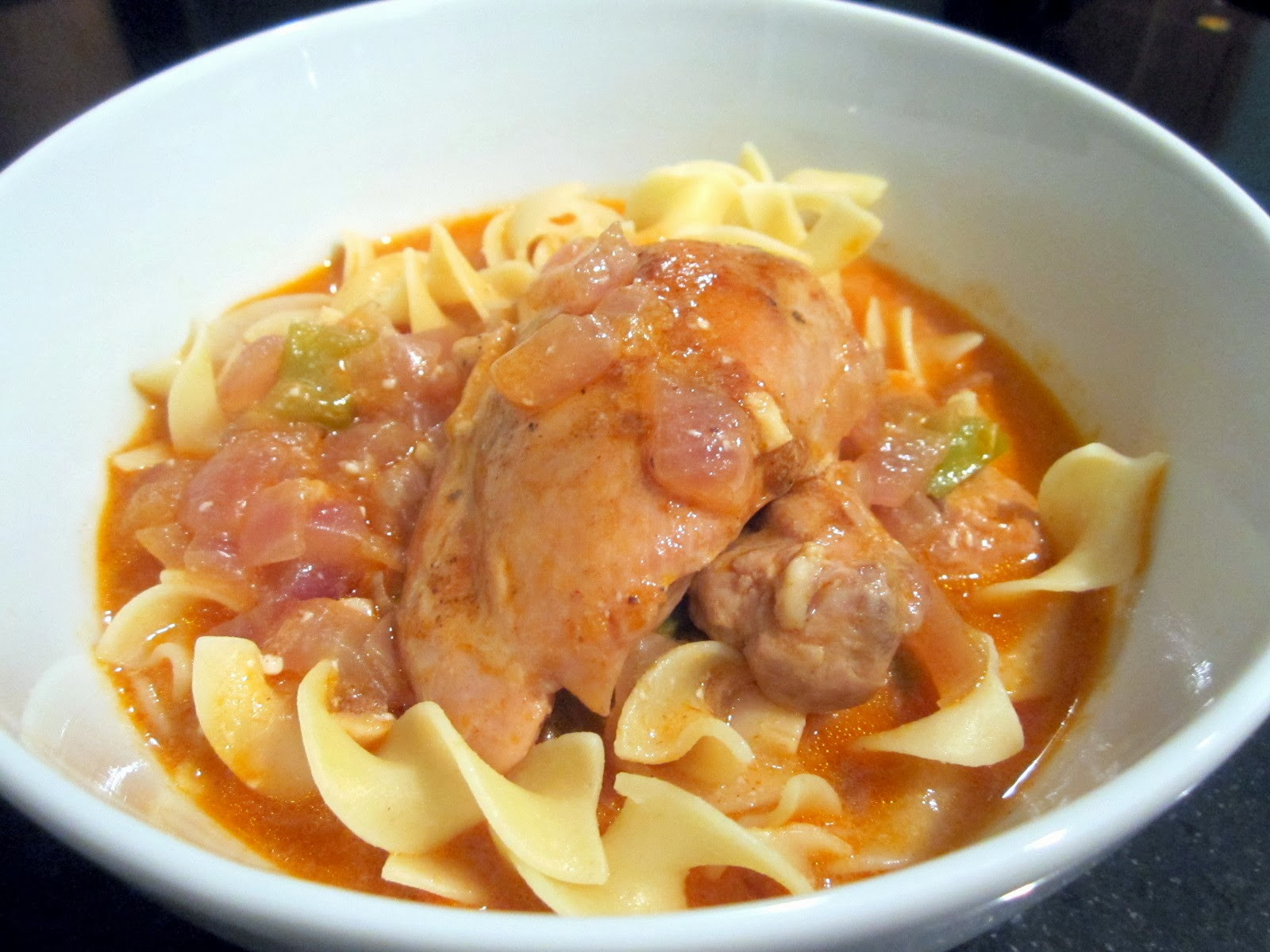 Sophie in the Kitchen: Chicken Paprikash