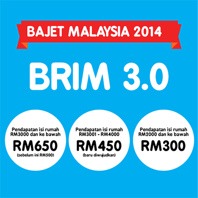 PROMOTION : 1 Malaysia People's Aid (BR1M 3.0) *!