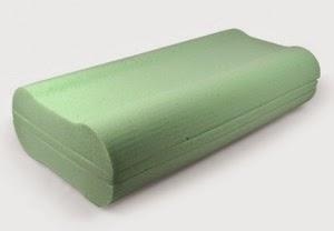 Forma de las almohadas cervicales
