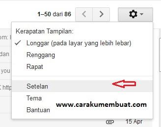 balsan otomatis gmail