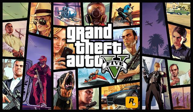 Grand theft auto 5 ( GTA 5) game