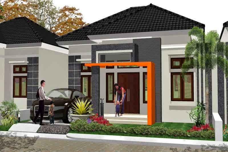 Contoh Rumah Minimalis Type 45 1 Lantai Dengan Carport
