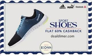 PayTM Adidas, Puma & Reebok Sports Shoes