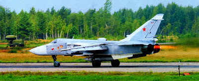 Розжиг форсажей двигателей разведчика Су 24МР