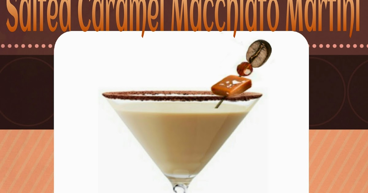how to make a salted caramel martini