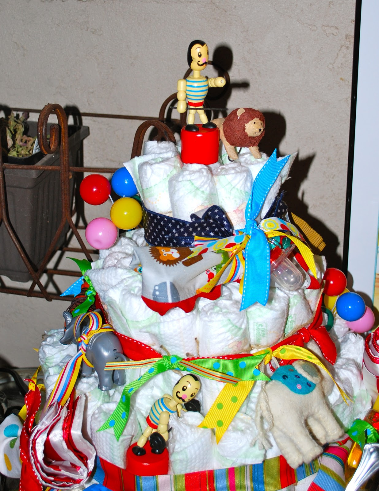 Vintage Circus Themed Baby Boy Shower