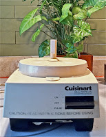 1987 Cuisinart Food Processor without workbowl