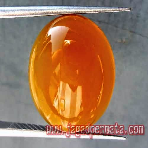 Batu Permata Natural Yellow Chalcedony