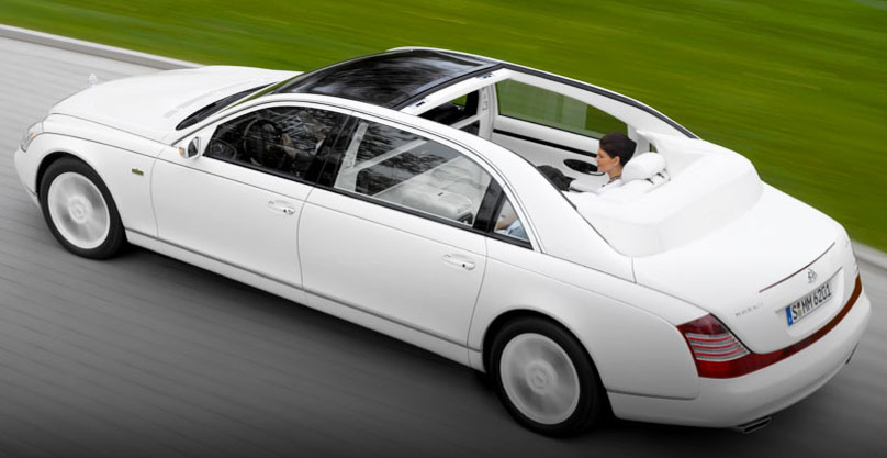 car design maybach landaulet 2012