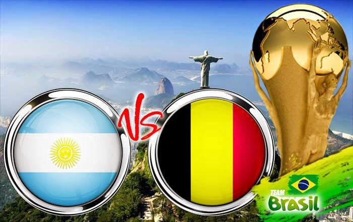 Prediksi Skor Argentina vs Belgia 5 Juli 2014 Piala Dunia