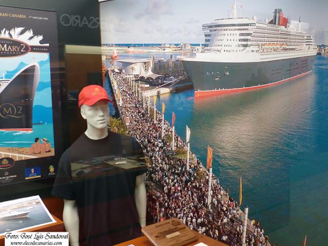 Fotos exposición naviera Cunard