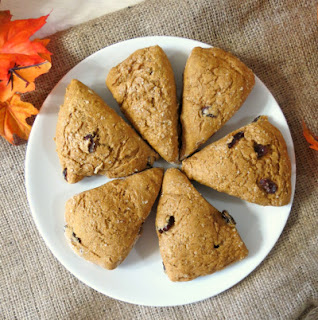 Pumpkin Spice Scones #pumpkinscones