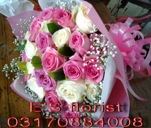 rangkaian karangan bunga untuk wisuda graduation flower