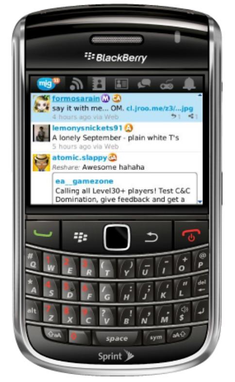 Download aplikasi mig33 blackberry dan android