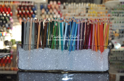 creations by christie stylish copic colored pencil holders. Black Bedroom Furniture Sets. Home Design Ideas