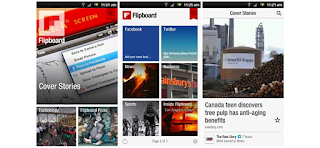 Flipboard Android app updated for phones running older versions of Android.