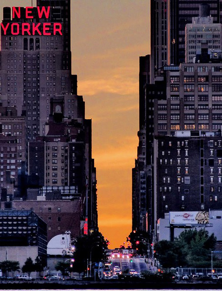 NYC Sunset New Yorker concrete jungle