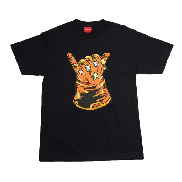 "The Blot Says...  SDCC 15 Exclusive Marvel s Infinity Gauntlet ""Infinity  Shaka"" T-Shirt by Lightsleepers 6ac03355e"