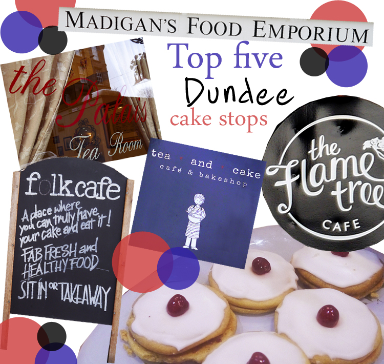 Tea and Cake in Dundee, Dundee cafes, tea and cake, Folk Cafe, Madigan's Food Emporium, The Palais, Tea and Cake, The Flame Tree Cafe, best cake in dundee, Scottish bloggers, places to visit