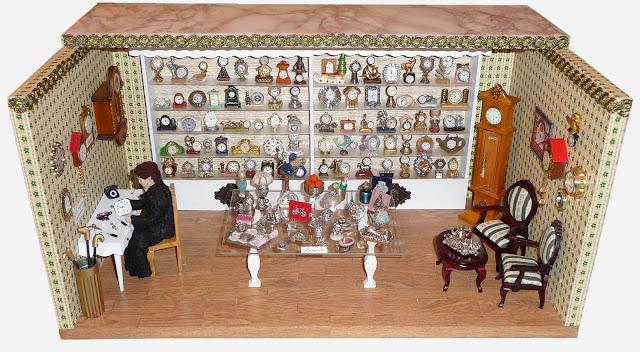 Morandi Sisters Microworld: Antique Clock Shop - Antico Negozio di ...