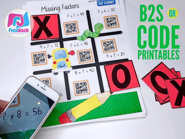 Back to School QR Code Printables