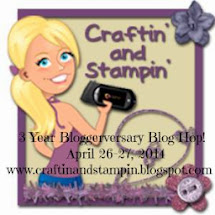 Craftin' and Stampin' 3 Year Bloggerversary Hop