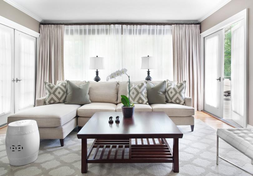 Rideaux salle de séjour | Meuble et Décoration