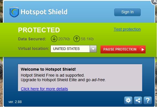 خرید فیلتر شکن دانلود فیلتر شکن hotspot shield برای pc - اموزش