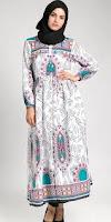 Model Gamis Modern Untuk Wanita Gemuk