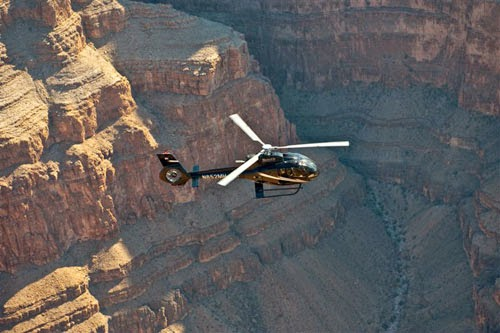 things to do during the day in Las Vegas - helicopter tour