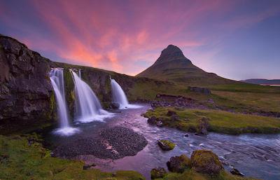 Cascadas de las tierras prometidas - Visitando el edén