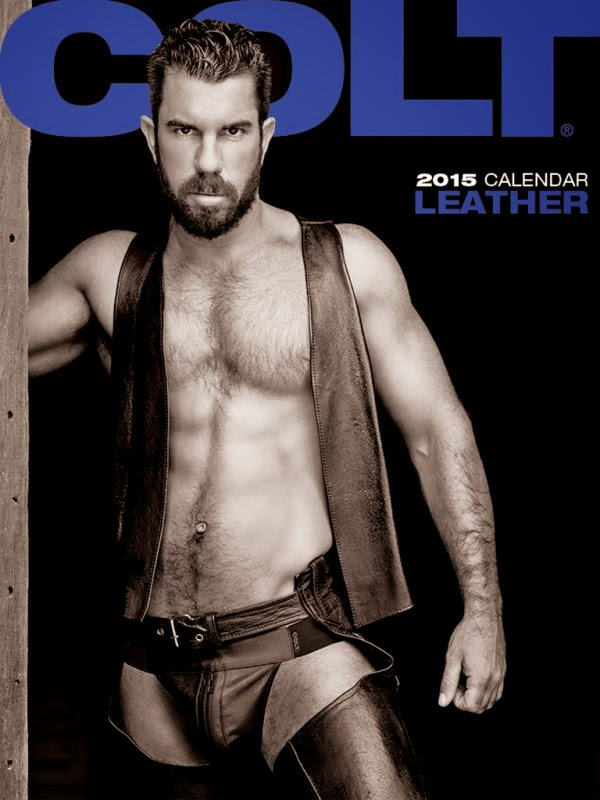Leather 2015 Calendar COLT Gayrado