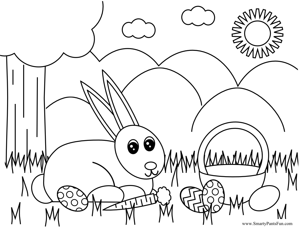 Free easter coloring pages for toddlers - Free Easter Coloring Pages For Toddlers 38