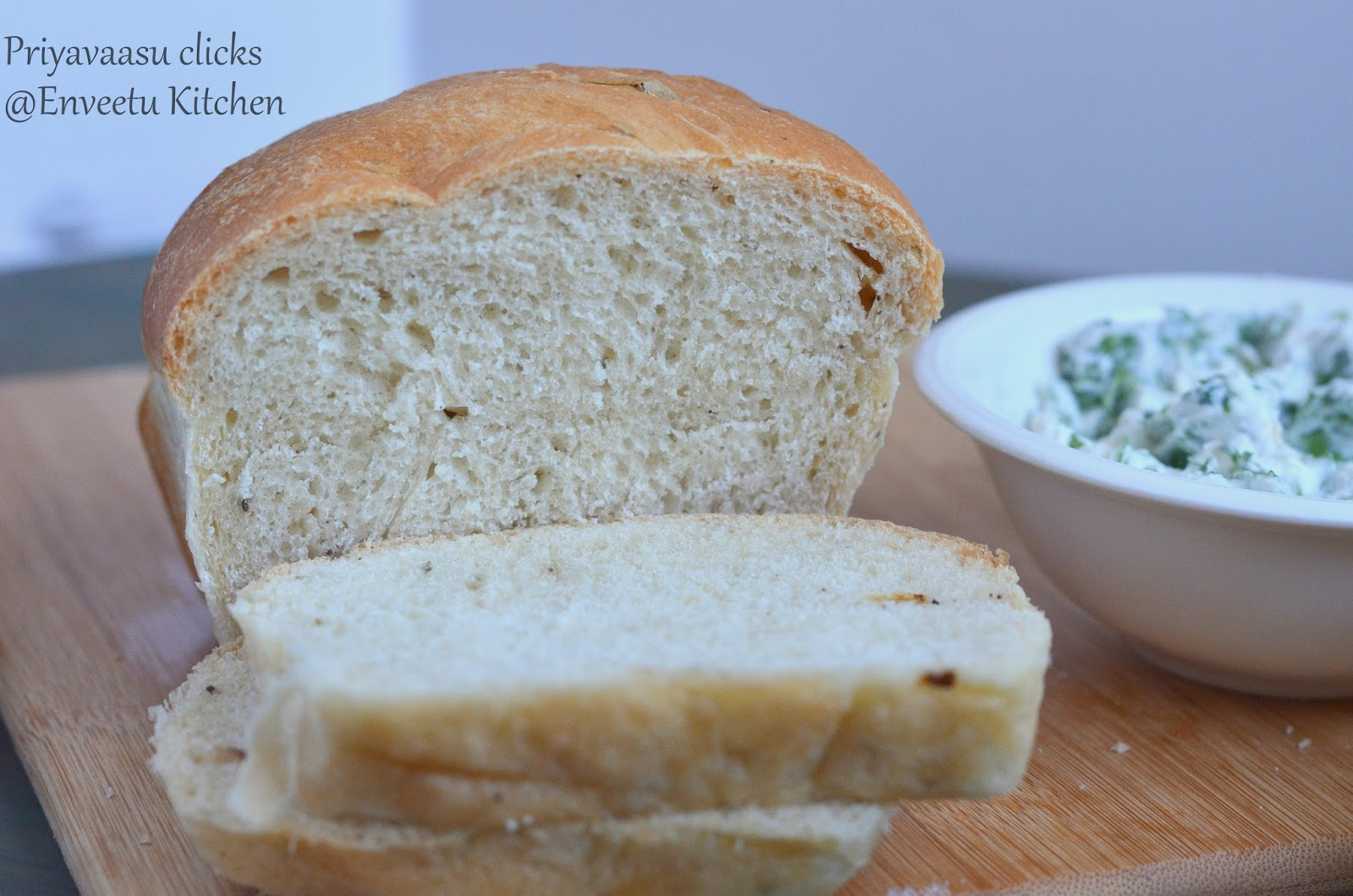 Panmarino - Potato Rosemary Bread | I Camp in my Kitchen