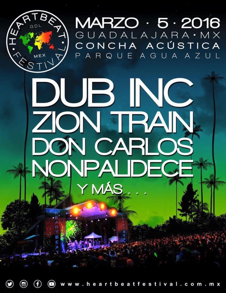 Vuelve el Heartbeat Fest a Guadalajara, será en la Concha Acústica ...
