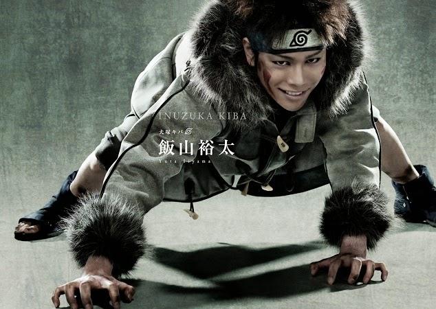 Yuta Iyama as Inuzuka Kiba